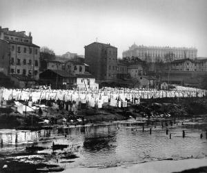 Ribera del Manzanares hacia 1910