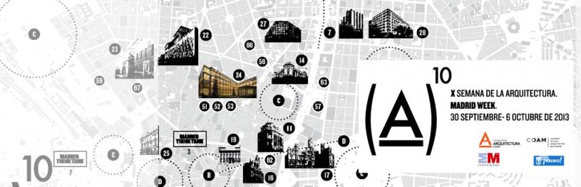Itinerarios gratuitos en la Semana de la Arquitectura